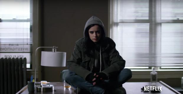 Jessica Jones grana przez zjawiskową Kirsten Ritter