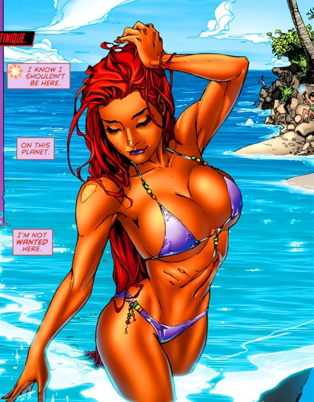 starfire-fanservice-red-hood-and-the-outlaws-1