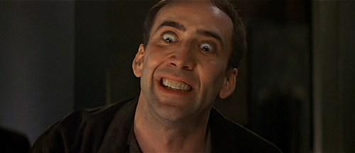 Nicolas Cage i jego niepowtarzalna mimika