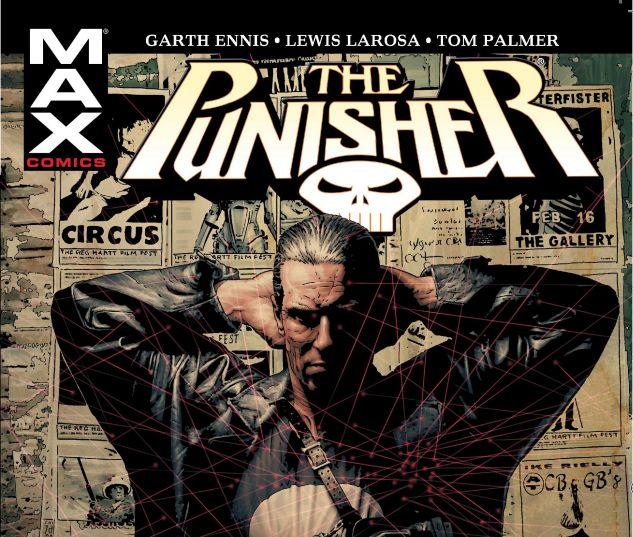 Punisher max okładka