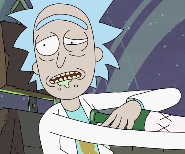 Rick i Morty nie są przyjemni dla oka