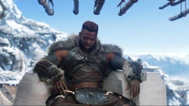 Black Panther i tło CGI