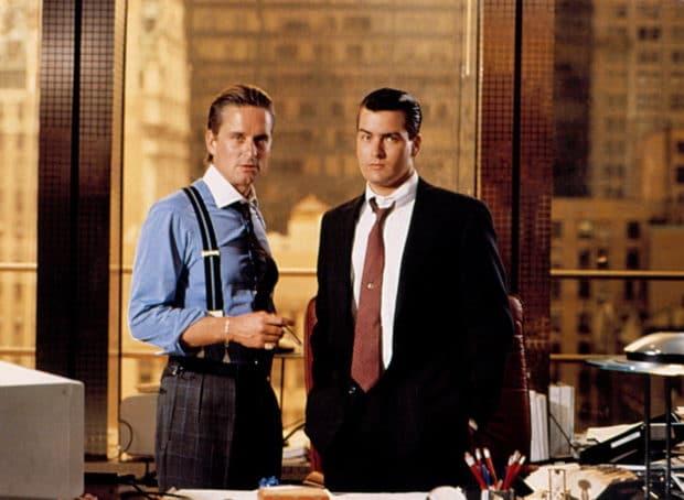 Wall Street i bardzo dużo żelu na włosach bohaterów