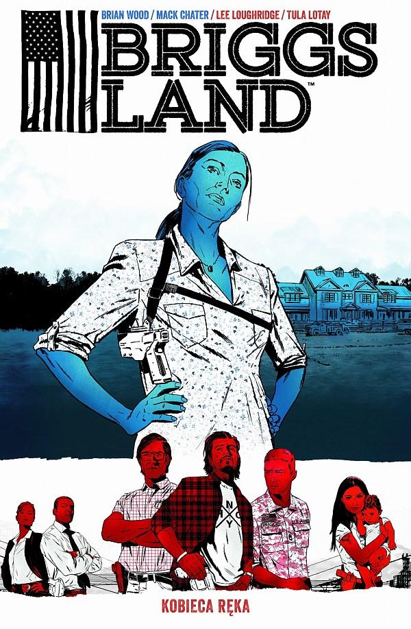 Briggs Land. Kobieca ręka