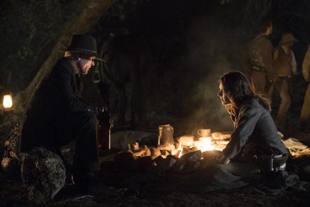 Westworld - Człowiek w Czerni ze swoją córką