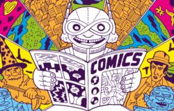 Grafika promująca Comic Con Rumia