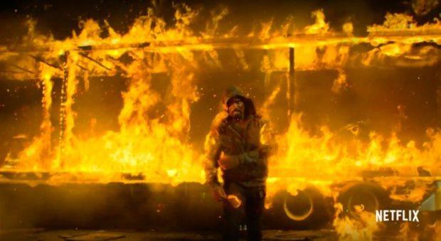 Luke Cage ogień