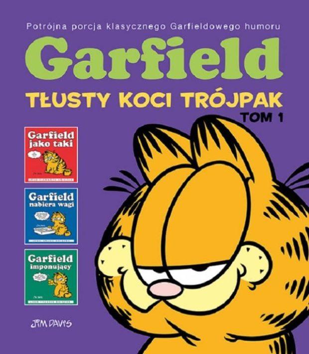 Garfield trójpak
