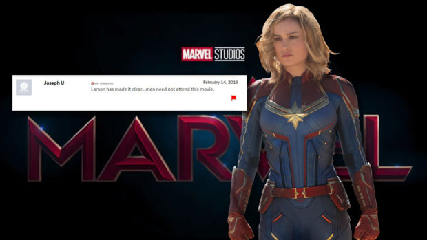 captain marvel hate