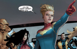 Captain marvel stuleja