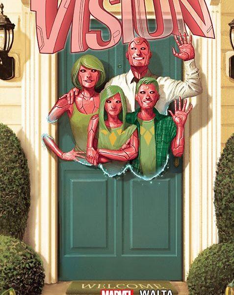 vision komiks okładka
