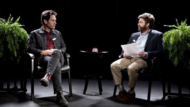 between two ferns netflix paul rudd
