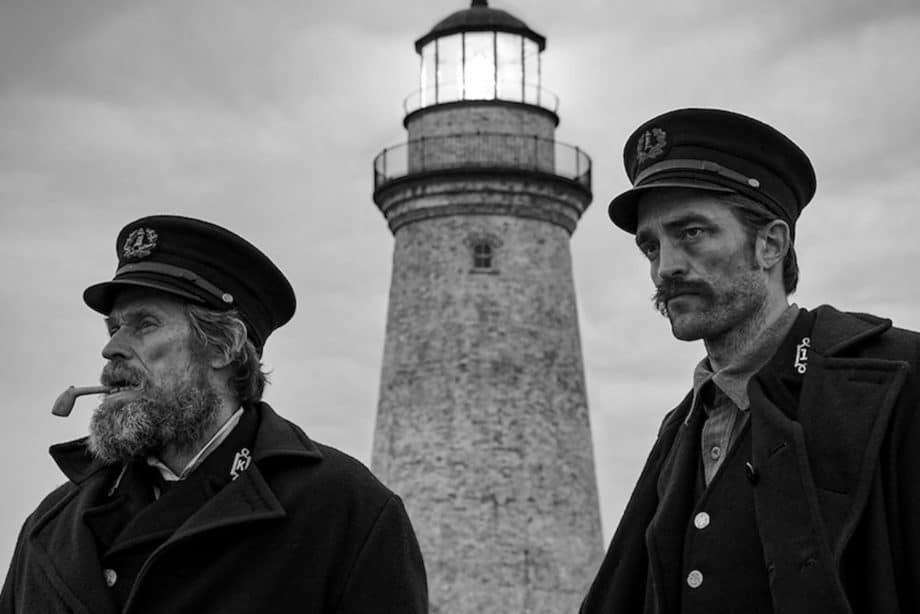 The Lighthouse Robert Pattinson Willem Dafoe