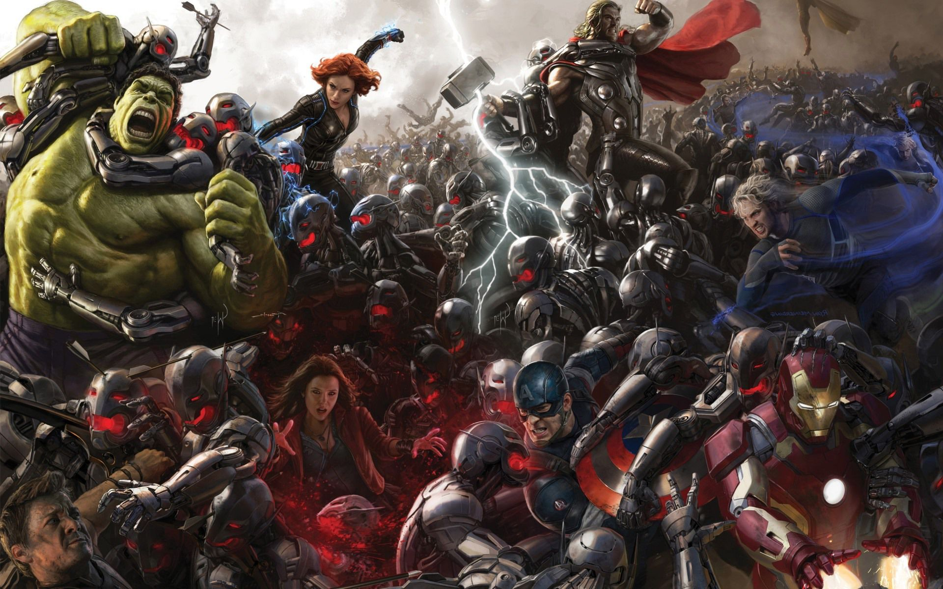 Kajetan do Polki, Polka do Kajetana – Avengers: Czas Ultrona