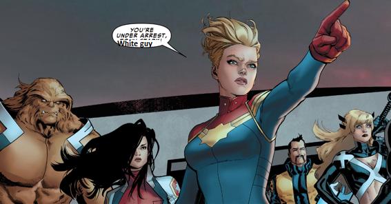 Przyleci Captain Marvel i obetnie Ci kutasa, czyli raport z oblężonej stulei