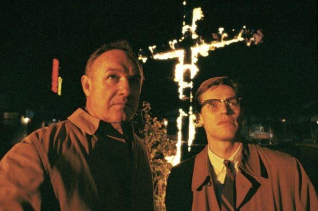 Missisipi w ogniu Willem Dafoe Gene Hackman