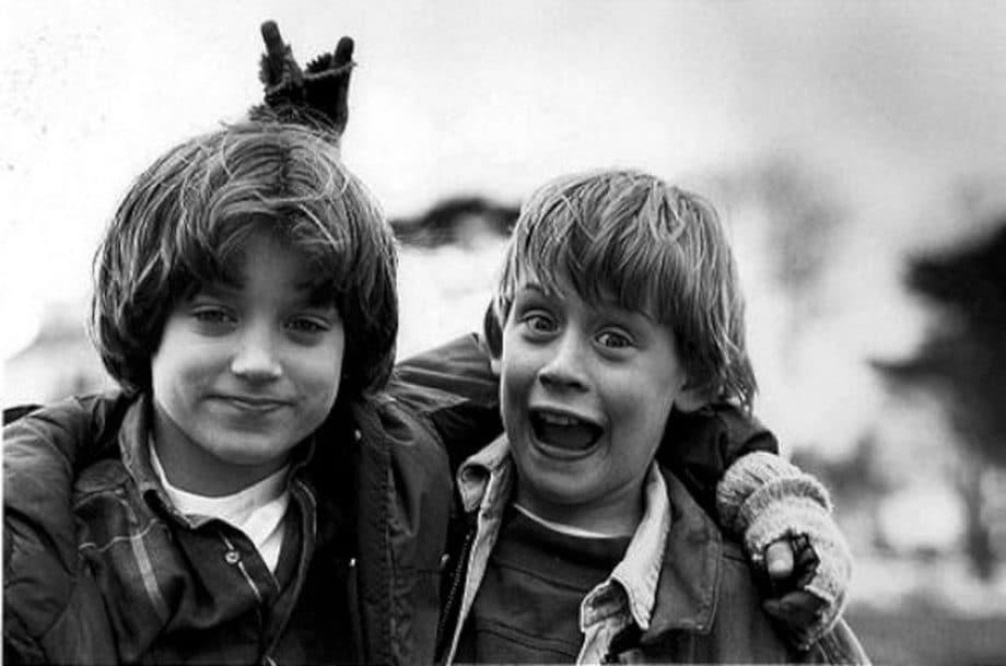 Elijah Wood i Macaulay Culkin