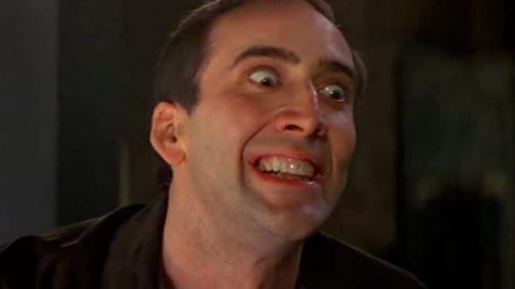 Bez twarzy Nicolas Cage