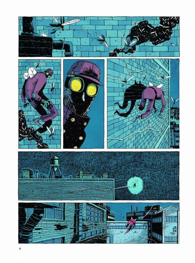Miasto wyrzutków komiks