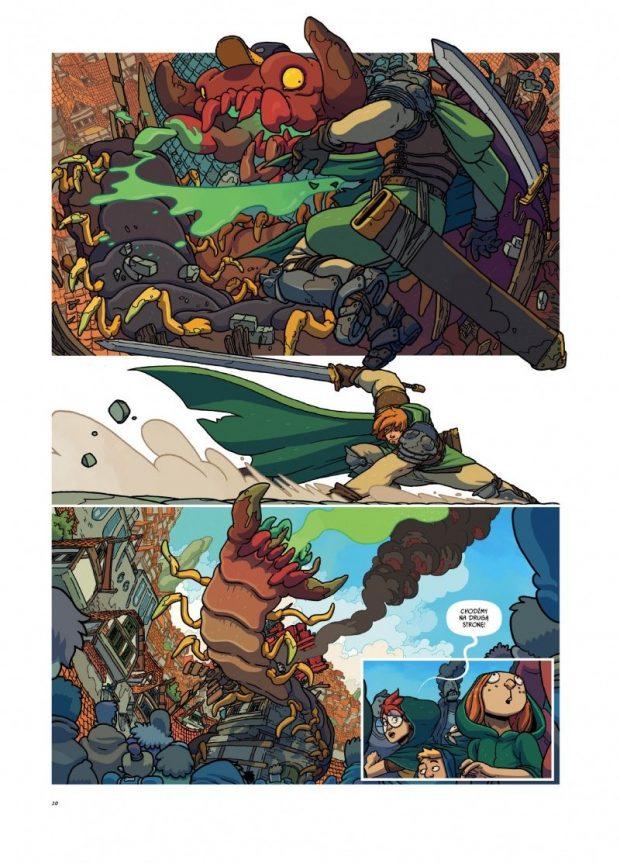 Rycerz  JAnek komiks Kultura Gniewu